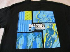 DISCOVERY CHANNEL PRO CYCLING TEAM VINTAGE T-SHIRT-MEDIUM LANCE ARMSTRONG RARE