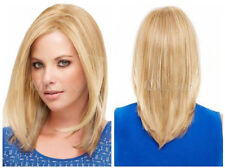 Fashion wig New Charm Women's Medium Long Blonde Straight Hair Full Wigs