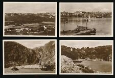 Channel Islands GUERNSEY small lot x9 c1930s? sepia RP PPC