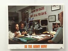PAULY SHORE SIGNED IN THE ARMY AUTO AUTOGRAPH LOBBY CARD 11X14 PHOTO JSA CERT