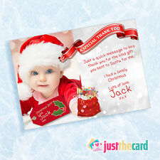 10 Baby Christmas Thank You Photo cards
