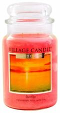 Village Candle Large Jar 26oz NEW 2018 RANGE Double Wick 170 Hour Burn Time