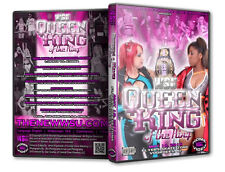 WSU Womens Wrestling - Queen and King of The Ring 2014 DVD, & Lufisto Athena CZW