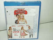 I Love You, Beth Cooper/All About Steve (Blu-ray, 2 Discs Region A, Canadian NEW