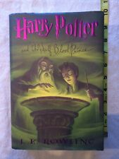 Harry Potter: Harry Potter and the Half-Blood Prince 6 Rowling First ED HC VG