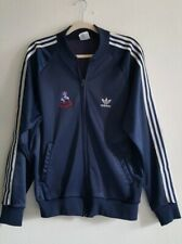 Adidas ATP Keyrolan Navy New England Patriots Full Zip Track Jacket Size: L