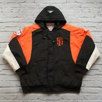 Vintage 90s San Francisco Giants Parka Jacket by Apex One Size XL
