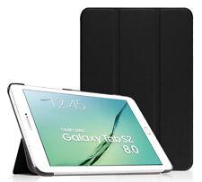 """CUSTODIA SMART COVER Integrale per Samsung Galaxy TAB S2 8.0"""" T719 2016 Nera"""