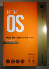 Pruvit Keto OS 2.1 Orange Dream ketone 30 Packet Box CHARGED Caffeine ketosis