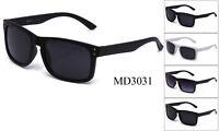 Dark Lens Sunglasses Retro Keyhole Holbrook Gangster Black OG Biker UV 100%