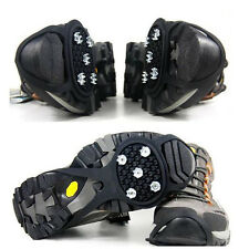 Ice Snow Grips Crampon Cleats Anti Slip Spikes Grippers For Shoes Boots Overshoe