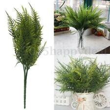 UK Artificial Emulation Asparagus Fern Bush Plastic Plant For Home Decoration