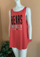 Under Armour Mercer Bears Open Back Athletic Top Blouse Women's Size L Pink NWT