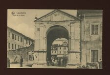 Italy CAPODISTRIA Porte de la Muda Advert Chocolaterie Cesar c1900/10s? PPC