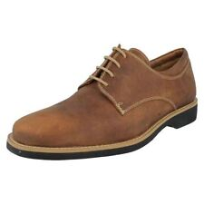 Suede Solid Round Shoes for Men