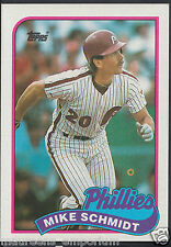 Topps 1989 Baseball Card - No 100 - Mike Schmidt - Phillies