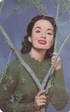 "ANN  BLYTH - hollywood  1953  MOTHERS COOKIES "" movie  stars ""  card/SCARCE"
