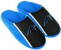 Carolina Panthers NFL Mens Jersey Slide Slipper Adult Sizes