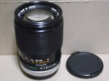 CANON LENS FD 135mm F2.5 S.C. Prime Lens From Japan
