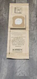 Genuine Kirby Micron Magic Filtration Vacuum Bags For Models G4, G5 9 PK 197394