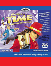Where in Time is Carmen Sandiego *BRAND NEW* PC 2001 Windows Re-release