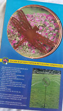 Brand New Solid Copper Water Pro Vintage Lawn Or Garden Sprinkler