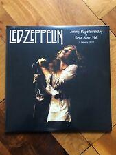 LED ZEPPELIN JIMMY PAGE BIRTHDAY LIVE ROYAL ALBERT HALL 1970 - 2LP SET NEW!