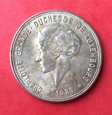 Luxembourg - Superbe monnaie en argent de  10 Francs 1929 Rare en cette qualité