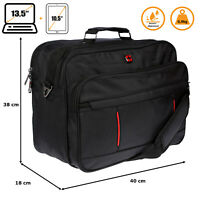 XXL 40x30x18 cm Flugbegleiter Arbeitstasche Herrentasche Tasche Messenger UNI