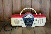 Vintage Overdrive Cicena Classic Portable Am/Fm/Stereo Radio Cassette Player