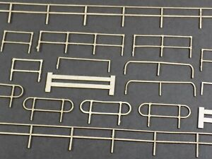 assorted industrial safety barrier fencing handrail kit - detail fence *3 for 2*