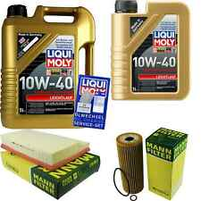 Inspection Kit Filter LIQUI MOLY Oil 6L 10W-40 For Mercedes-Benz W202