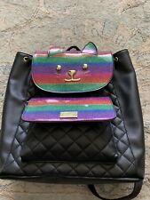 Betsy Johnson , Rainbow Cat Backpack