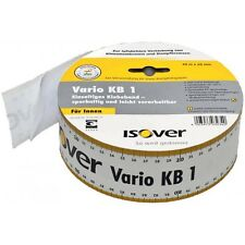 (0,44€/m) ISOVER Klebeband Vario KB1 mit integriertem Maßband - 60mm x 40lfm