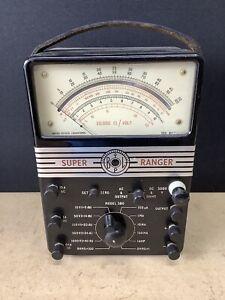 Vintage BPL Super Ranger Multimeter