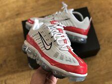 Nike Air Vapormax 360 Blanco Rojo Zapatillas para hombre Talla UK8.5 EUR43 US9.5 CK2718 002