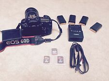 Canon EOS 60D 18.0MP Digital SLR Camera Bundle