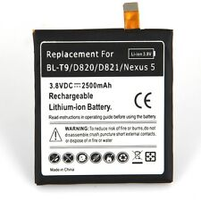 High-Capacity 2500mAh Battery Replacement for LG D820 D821 BL-T9 Google Nexus 5