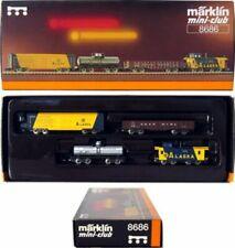 MARKLIN Z SCALE 8686  4 ARR American Style Freight Car Set  Original Box - C9