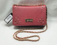 BEBE ROSA CLUTCH /CROSSBODY OXBLOOD Red Clutch Purse - Brand New Trending at $69