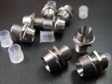 5 x 5mm  Soporte Cromado Portaleds Chrome Metal LED Bezel Porta Led Zocalo Led