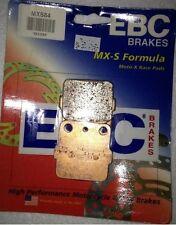 EBC Sintered MXS Moto-X Rear ATV Brake Pads 2004-2005 Yamaha YFZ450 # MXS84