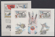 Czechoslovakia 6 mini sheets 1966-1987 MNH **