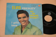 """ELVIS PRESLEY 7"""" 45 ARE YOU LONESOME TO NIGHT 1°ST ORIG ITALY 1961 EX+ !COLLEZIO"""