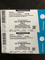 Beyonce & Jay Z - Concert Tickets  X2 - London Stadium - Friday 15th June.