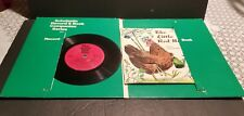 RARE GREEN Scholastic Record Book Companion Series The Little Red Hen 1973 EXCEL