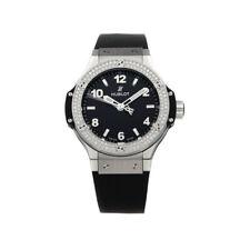 Hublot Big Bang Quartz Steel Diamonds Ladies Strap Watch 361.SX.1270.RX.1104