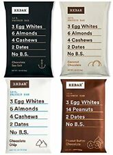 RXBAR Protein bar variety of 4 flavors (Pack of 12 bars)