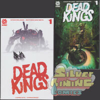 DEAD KINGS #1 Set of Two COVER A + B VARIANT 2018 SOLD OUT AFTERSHOCK COMICS