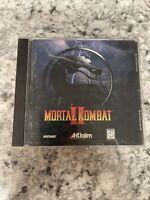 Mortal Kombat II PC DOC CD-ROM Vintage Computer Game